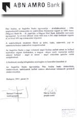 ABN Amro Magyar Bank vezérigazgató
