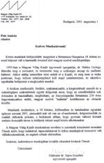 Magyar Világ Kiadó Kft.